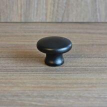 Gomb, fekete festett színű