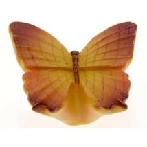 Gomb fogantyú - Lepke, narancs színű