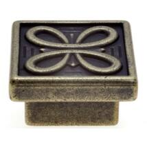 Fogantyú, antikolt bronz színű, lyuktáv:16 mm