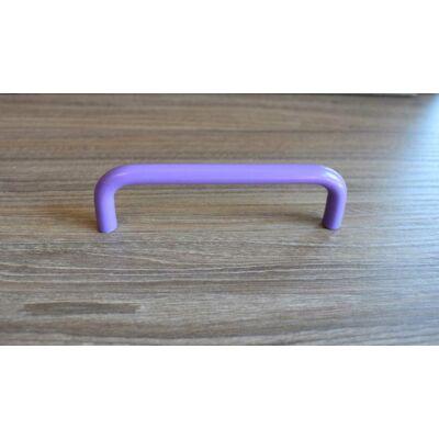 Fogantyú, lila színű, lyuktáv:96 mm