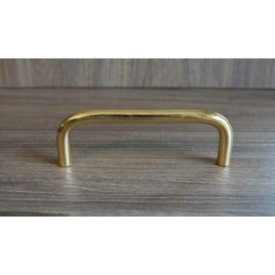 Fogantyú, arany színű, lyuktáv:96 mm