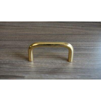 Fogantyú, arany színű, lyuktáv:64 mm