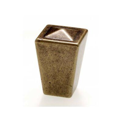 Fogantyú, antikolt bronz színű