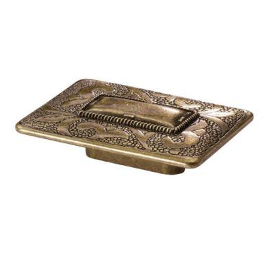 Fogantyú, antikolt bronz színű, lyuktáv:32 mm