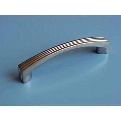 Fogantyú, matt nikkel színű, lyuktáv:96 mm