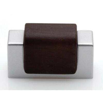 Fogantyú, wenge-matt króm színű, lyuktáv:32 mm